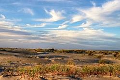 Evening Skies on Grayland Beach