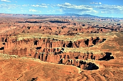 Rugged Country on the White Rim Trail