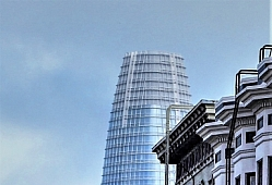 Salesforce Tower from Leavenworth Street