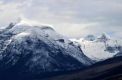 Mount Brown and the Little Matterhorn