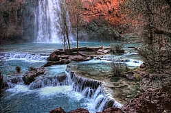 Havasu Falls Pools HDR