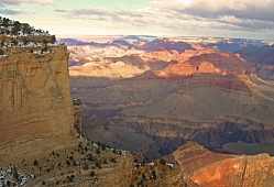 Canyon Walls at Dawn
