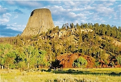 Devil's Tower from the Belle Fourche River