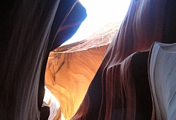 Antelope Canyon Contrasts