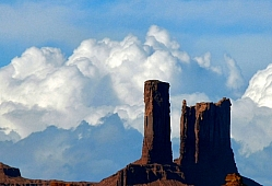 Monument Valley Thunderheads