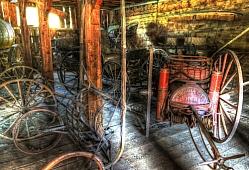 Fire Wagon No. 1 - Wagons and Buggies Collection No 3