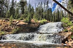 Lower Provo Falls