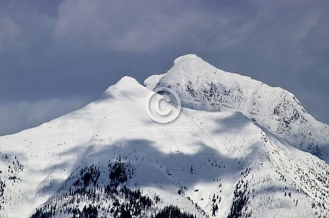 Mounts Vaught and Stanton