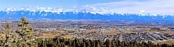 Kalispell, Montana and the Swan Range